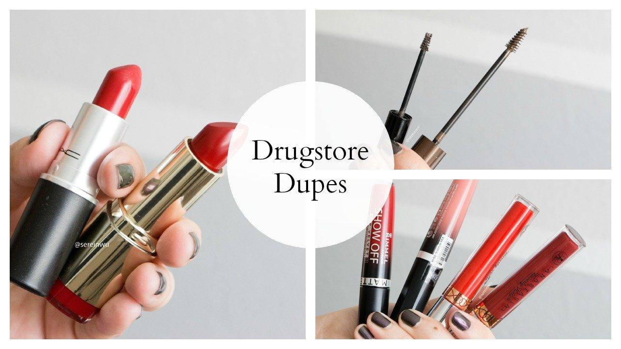 Drugstore Dupes