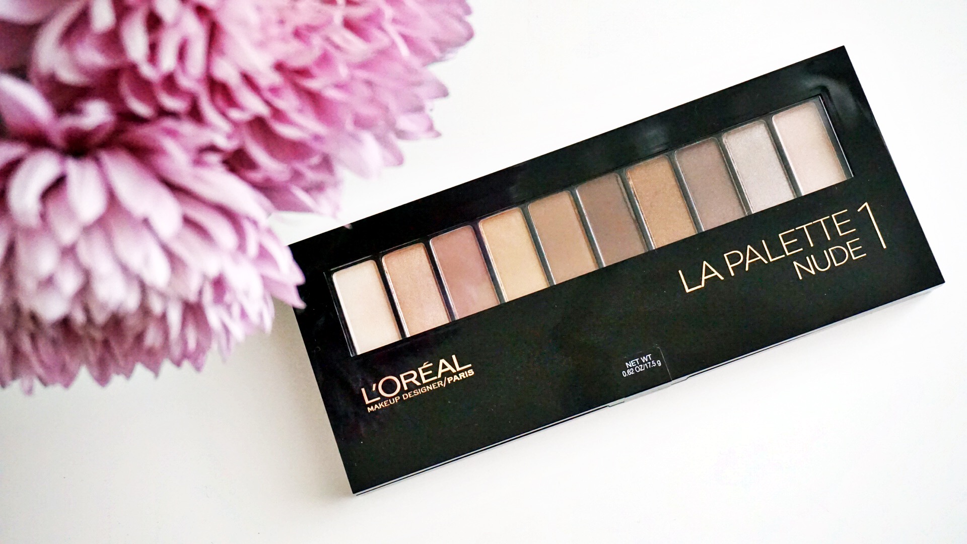 LOreal La Palette Nude 1 and 2 Review and Swatches
