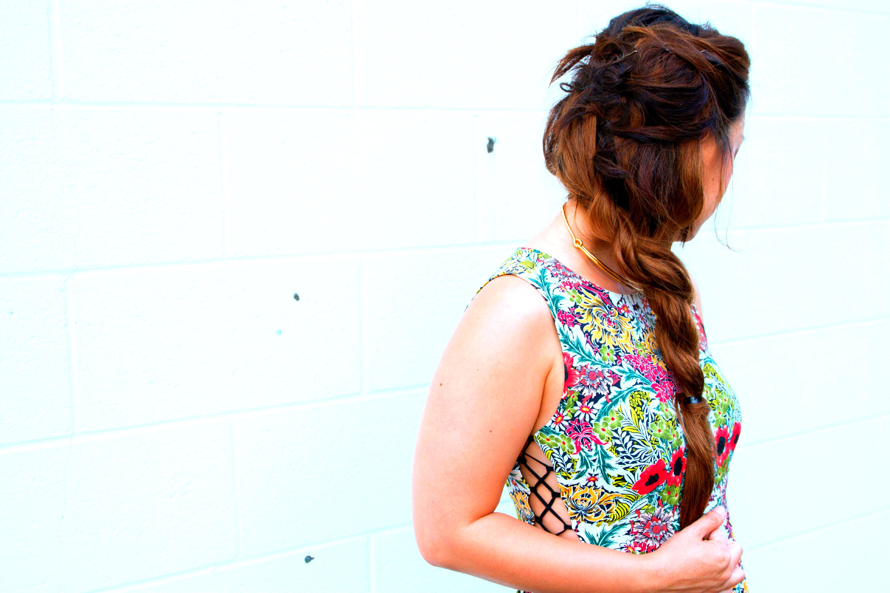 Floral Dresses And Hair Extensions