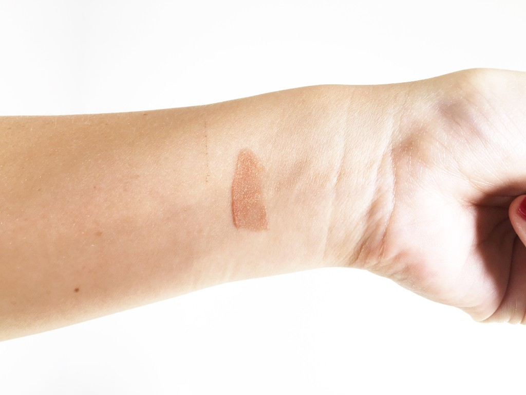 urban decay naked ultra nourishing lip gloss in freestyle swatch