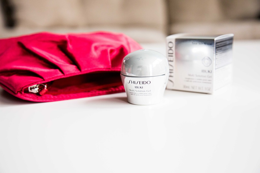 Shiseido Ibuki multi-solution gel
