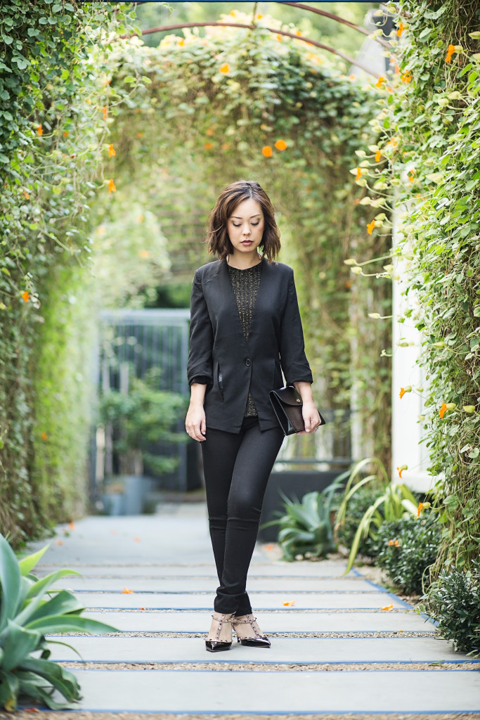 herein-wu-black blazer capsule wardrobe