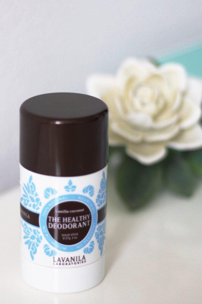 lavanila coconut vanilla natural deodorant