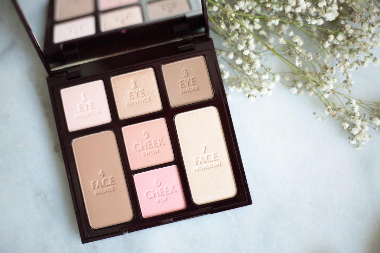 charlotte tilbury instant look palette minimal makeup