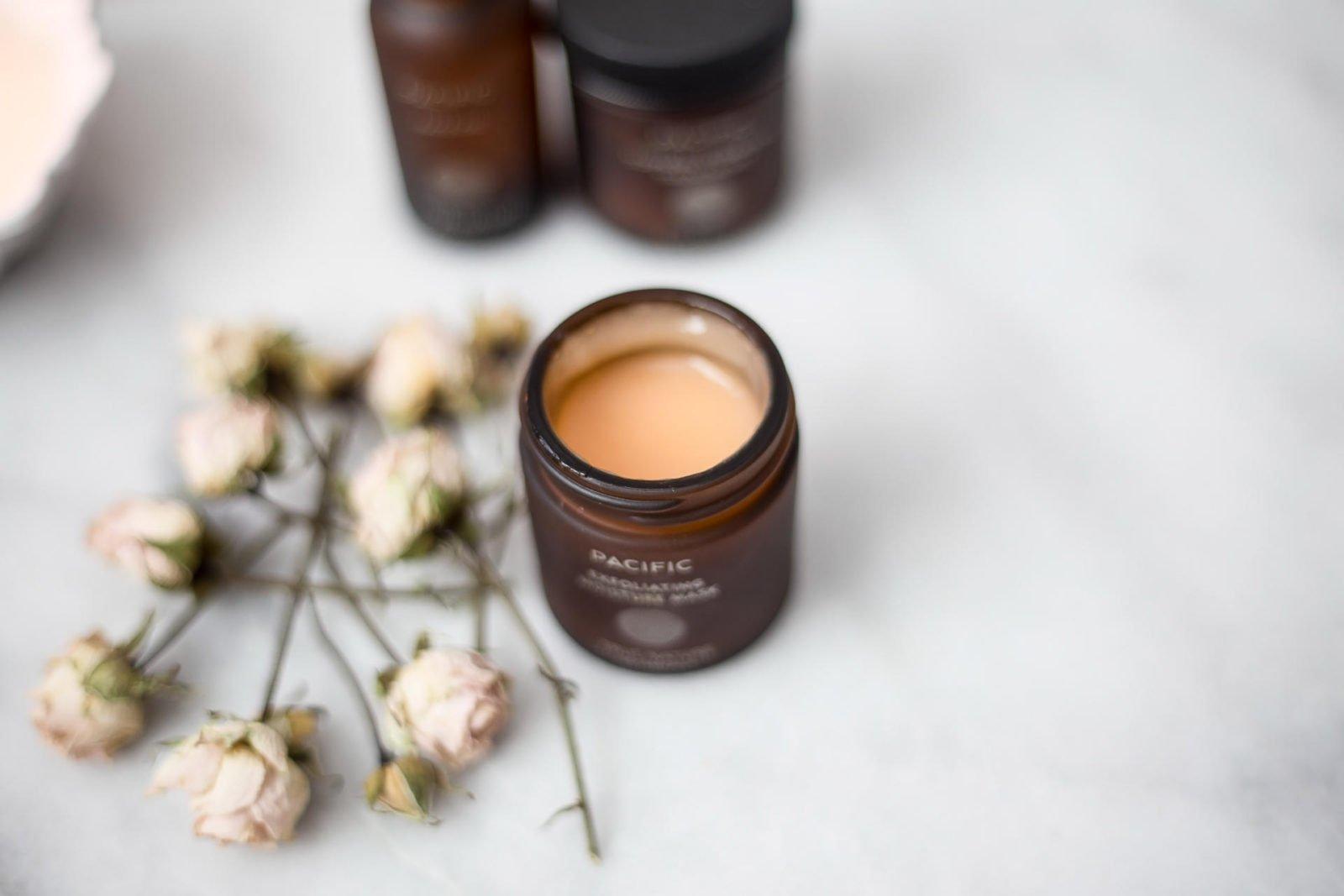 True Botanicals natural skincare exfoliating moisture mask