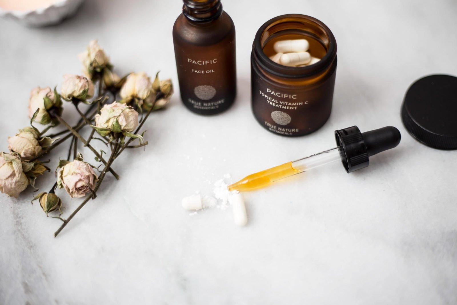 true botanics facial oil Topical vitamin c treatment natural skincare