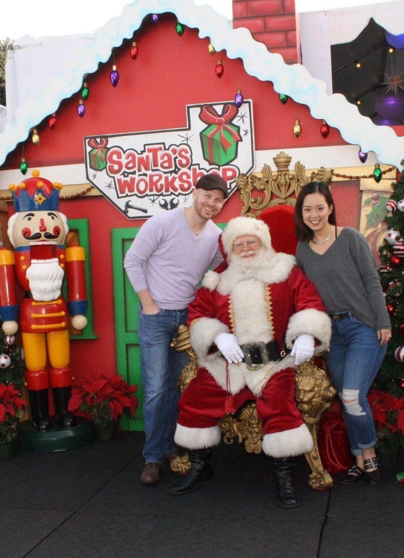 holiday gift serein wu husband santa