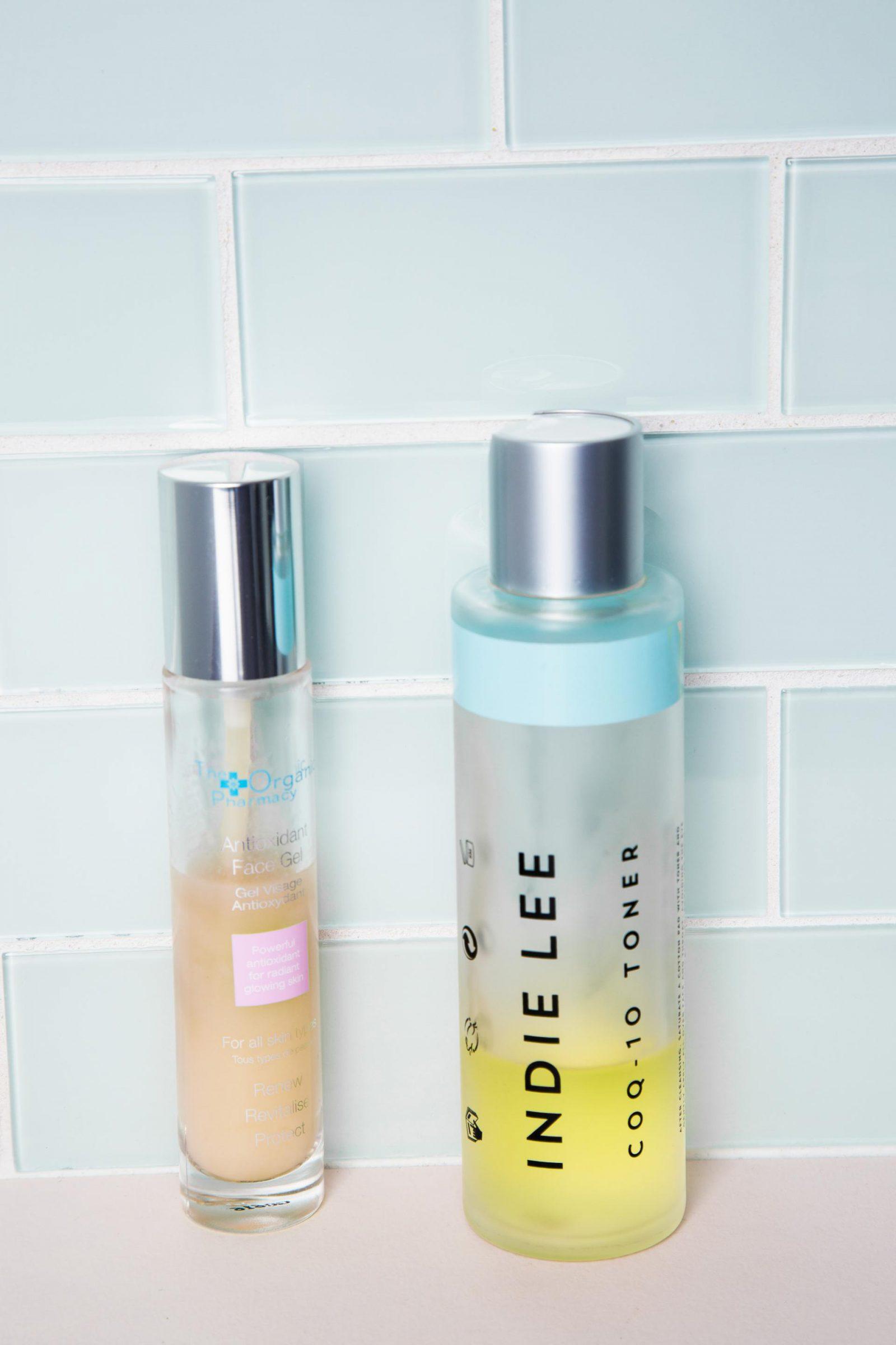 skincare expiration organic pharmacy antioxidant gel indie lee coq 10 toner