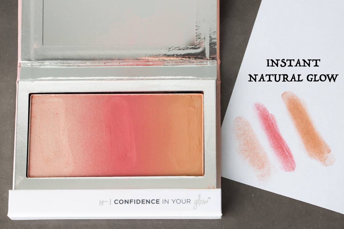 IT Cosmetics Confidence In Your Glow Instant Natural Glow Makeup Bag Monday 39