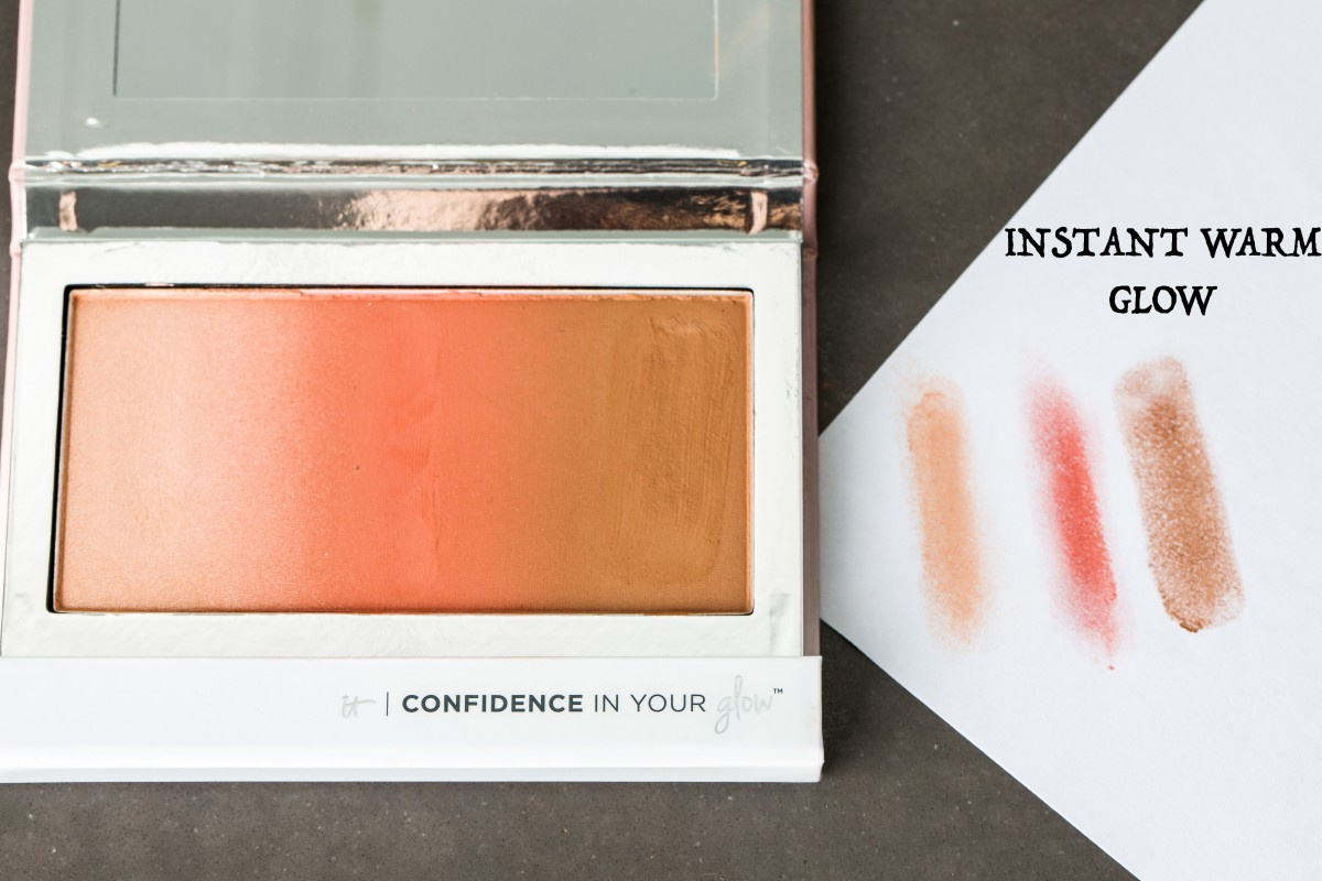 IT Cosmetics Confidence In Your Glow Instant Warm Glow Makeup Bag Monday 39