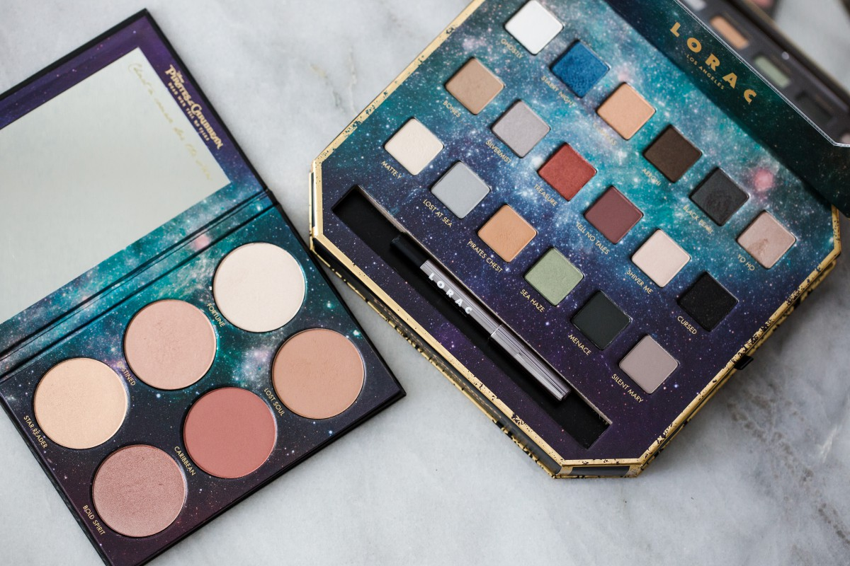 Pirate of The Caribbean Makeup eyeshadow palette cheek palette