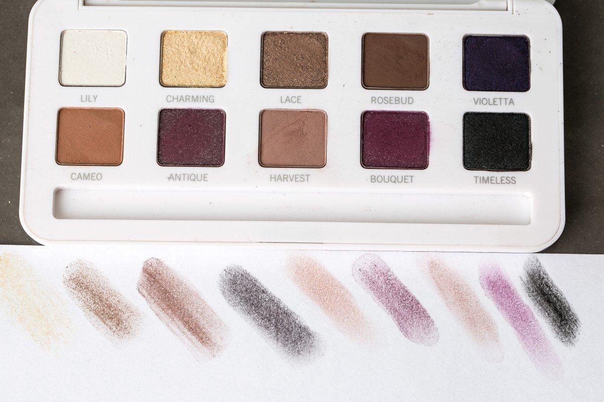 Model's Own Vintage Rose Eyeshadow Palette Makeup Bag Monday 39