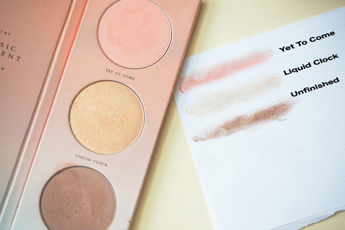 zoeva basic moments cheek palette makeup bag Monday 40