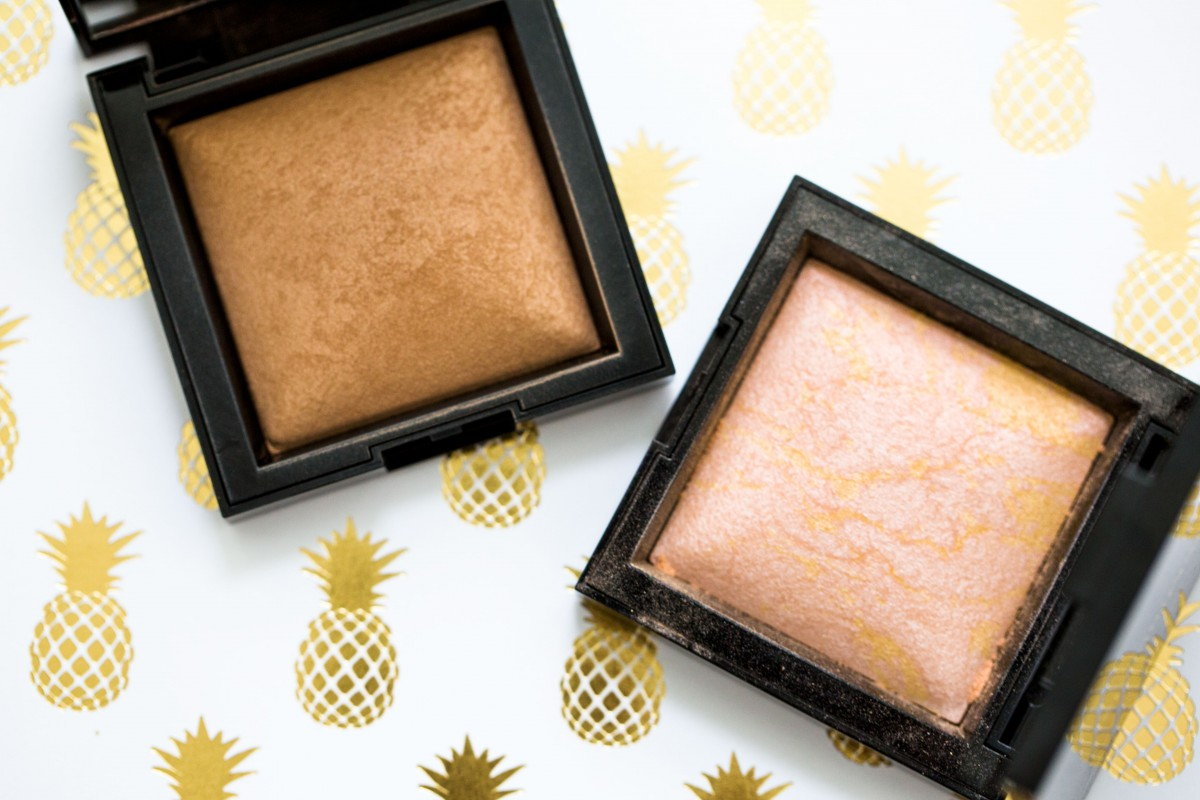 bareMinerals bronzer highlight