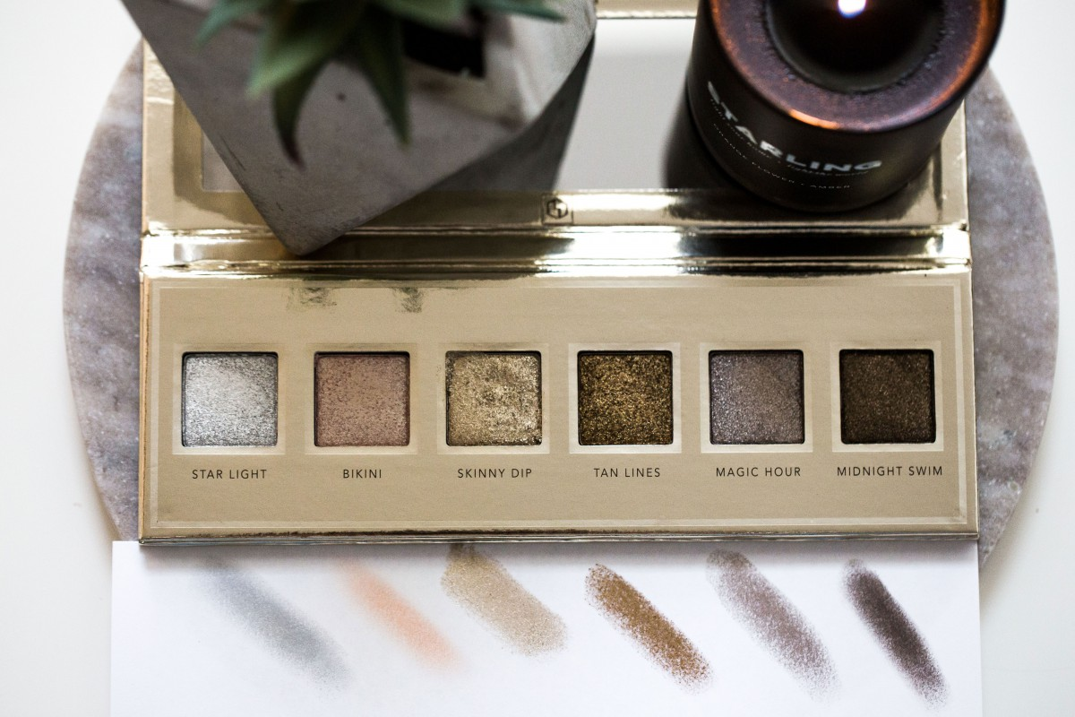 Jouer skinny dip collection ultra foil shimmer shadows