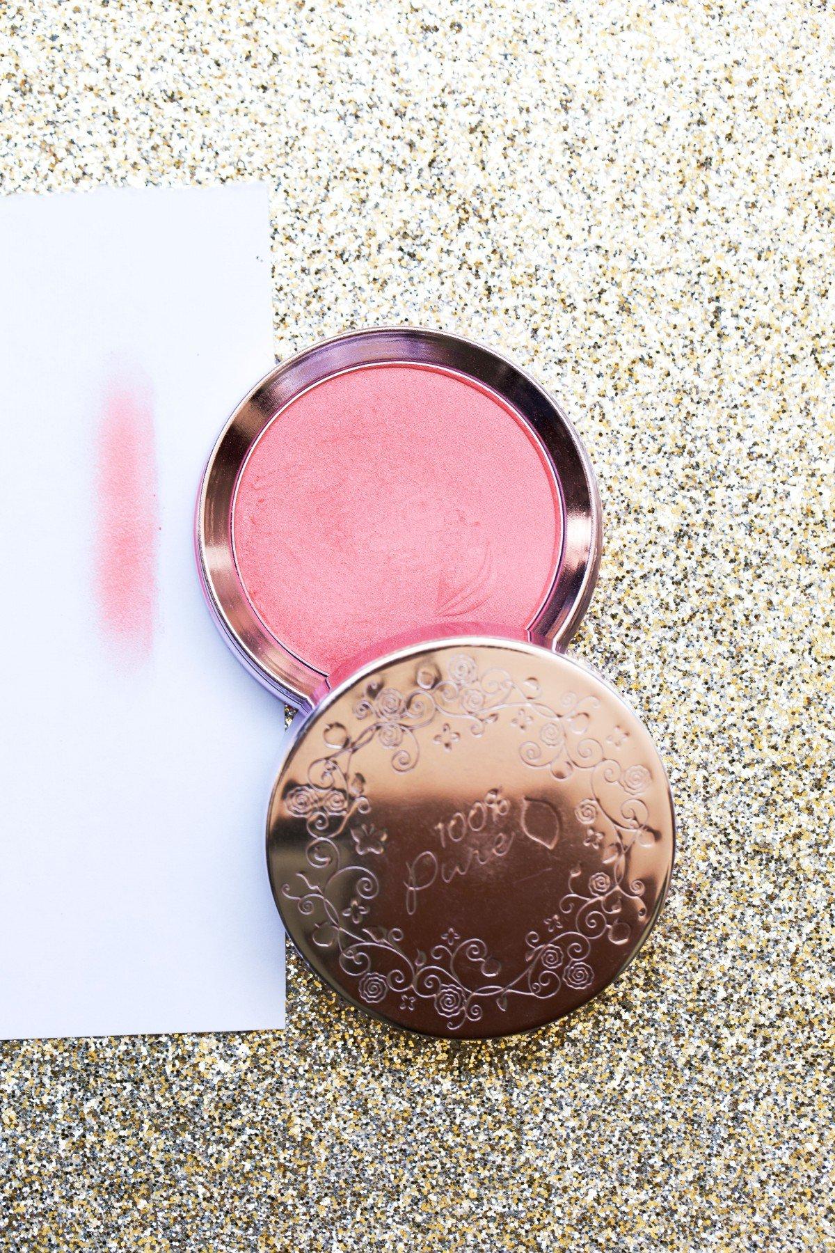 100 percent pure fruit pigmented blush makeup review makeup bag monday 49