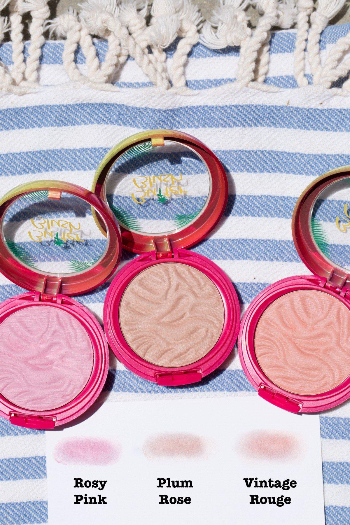 physicians formula butter blush summer glow makeup bag monday 50