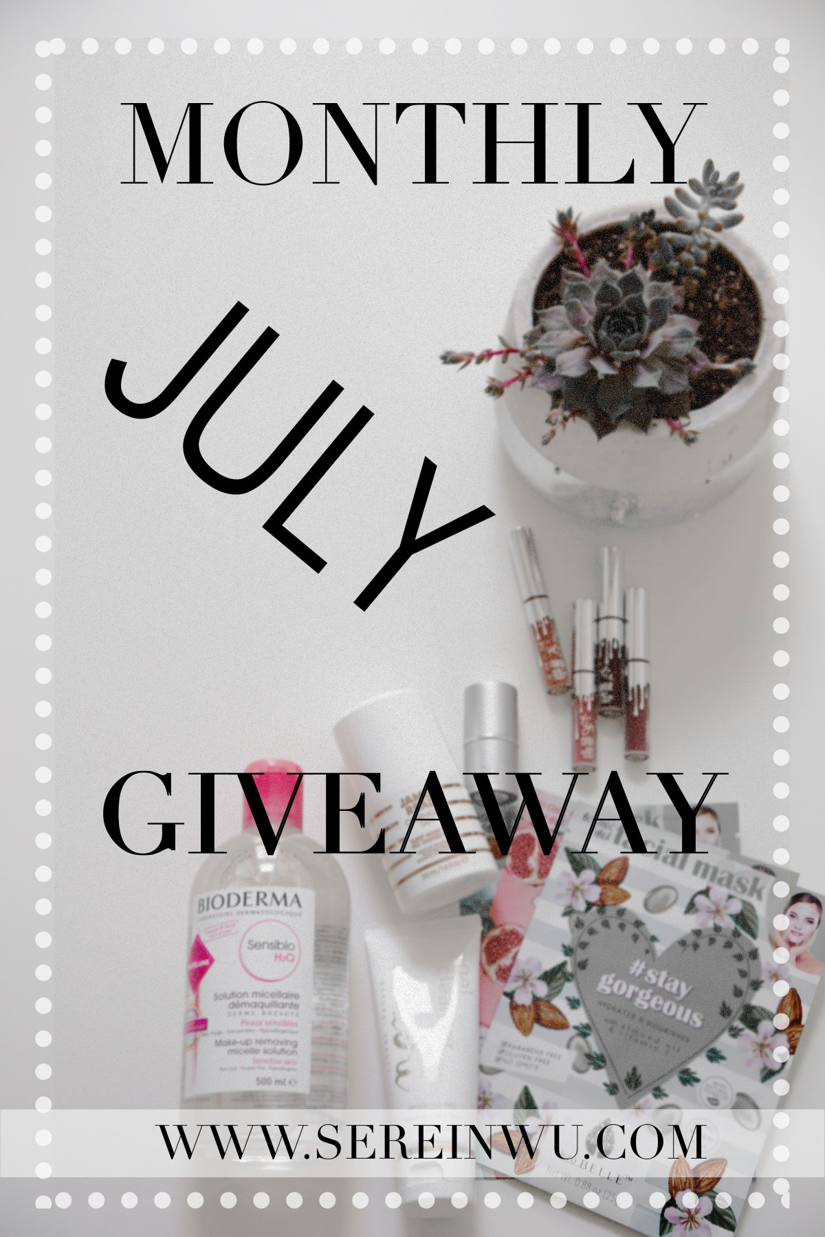 July Giveaway beauty