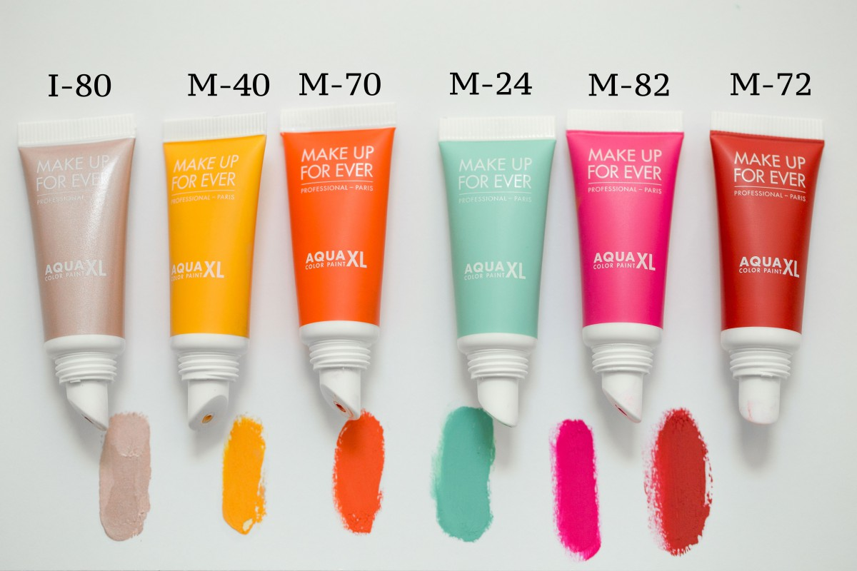 Make Up For Ever Aqua XL Color Paint swatch