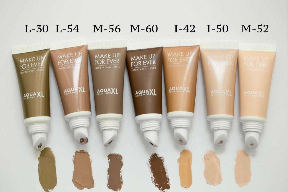 Make Up For Ever Aqua XL Color Paint swatch