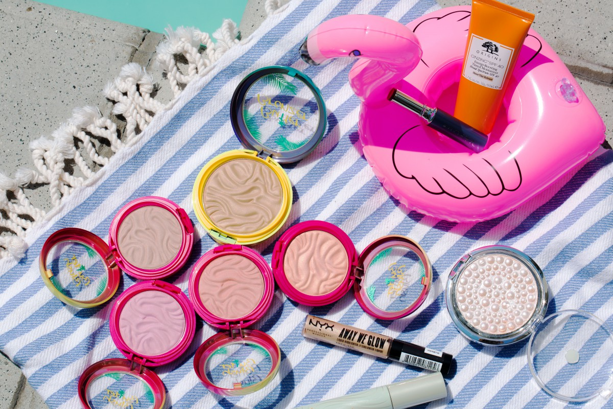 summer glow makeup bag monday 50