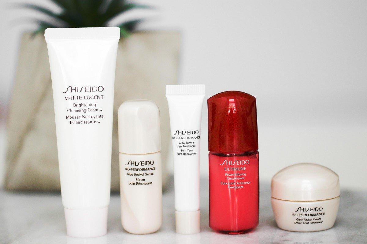 Shiseido Skincare Bio Performance Radiance Glow bonus
