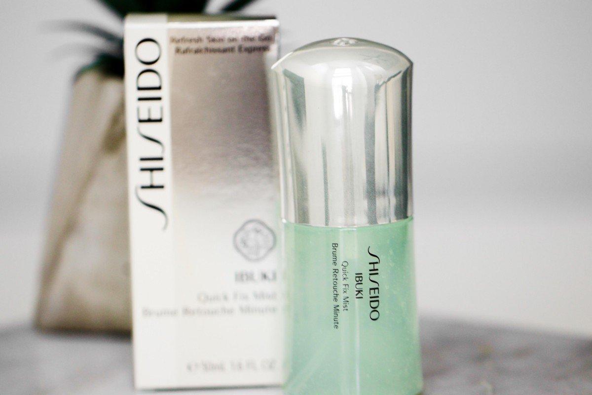Shiseido Skincare Ibuki quick fix mist