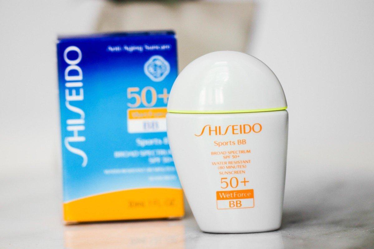 Shiseido Skincare sports bb