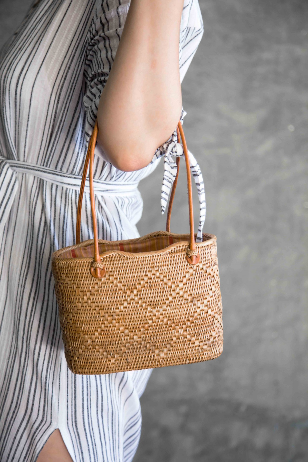 Basket Handbag Summer