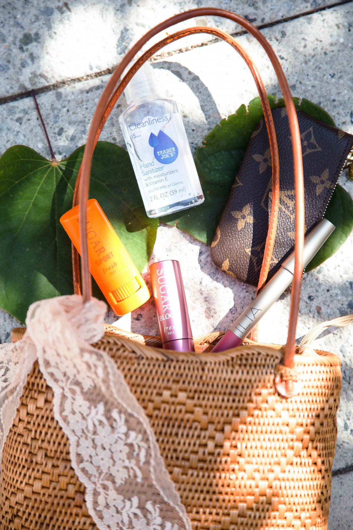 What's In My Basket Handbag Summer