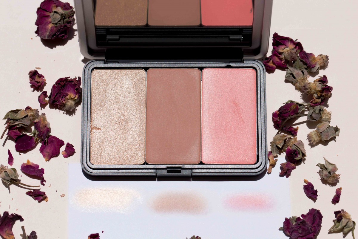 failed products make up for ever highlight, blush, bronzer
