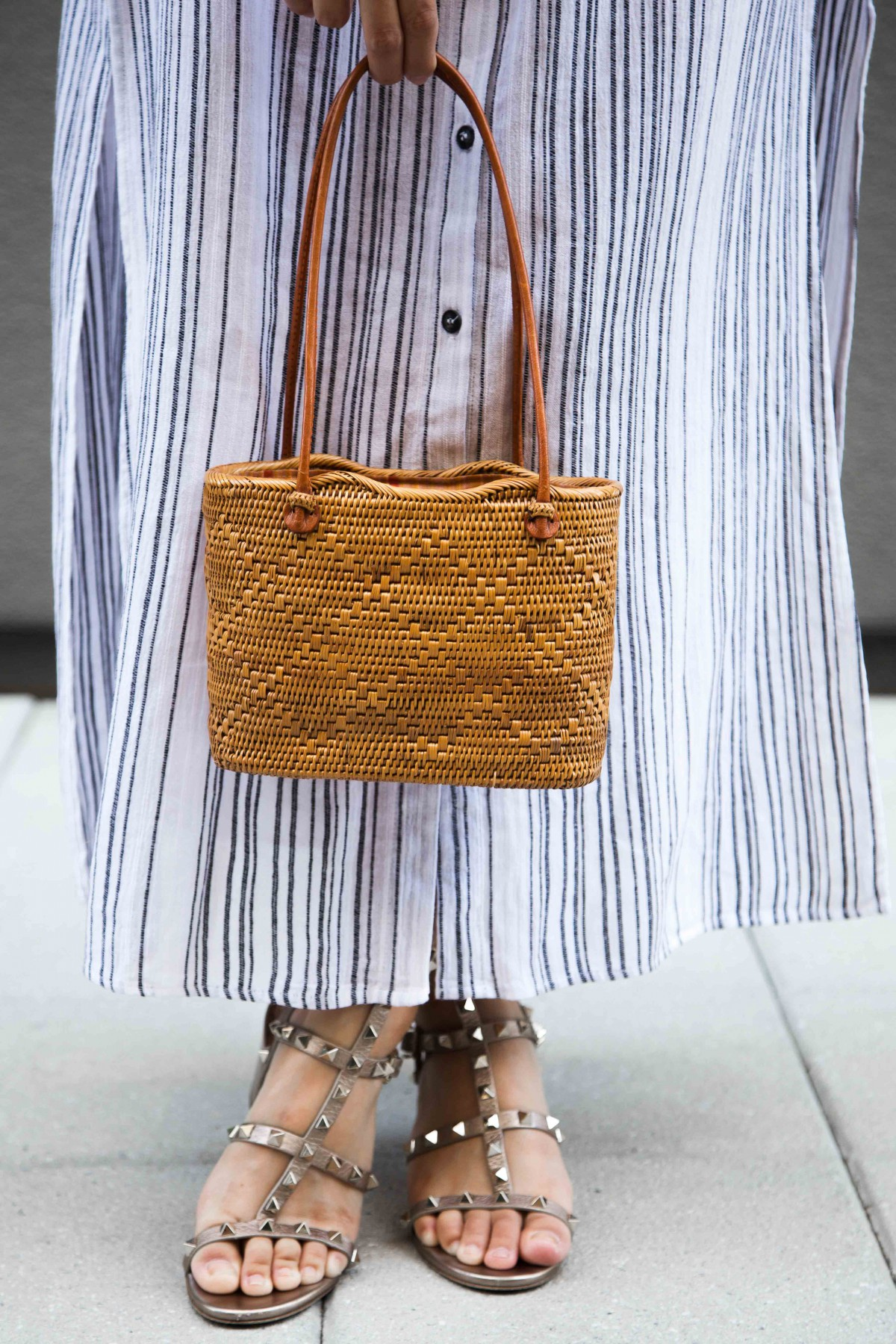 Basket Handbag Summer