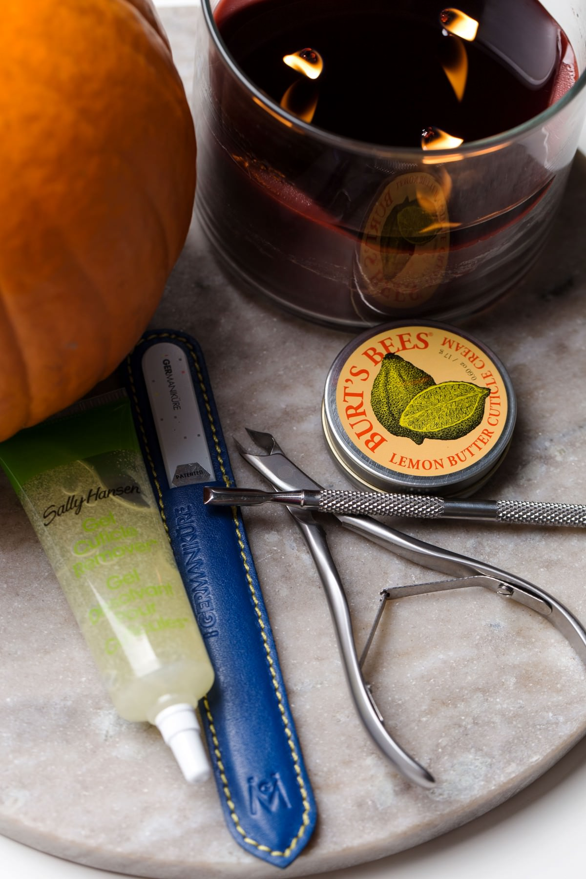 fall inspired nails manicure at home nail polish