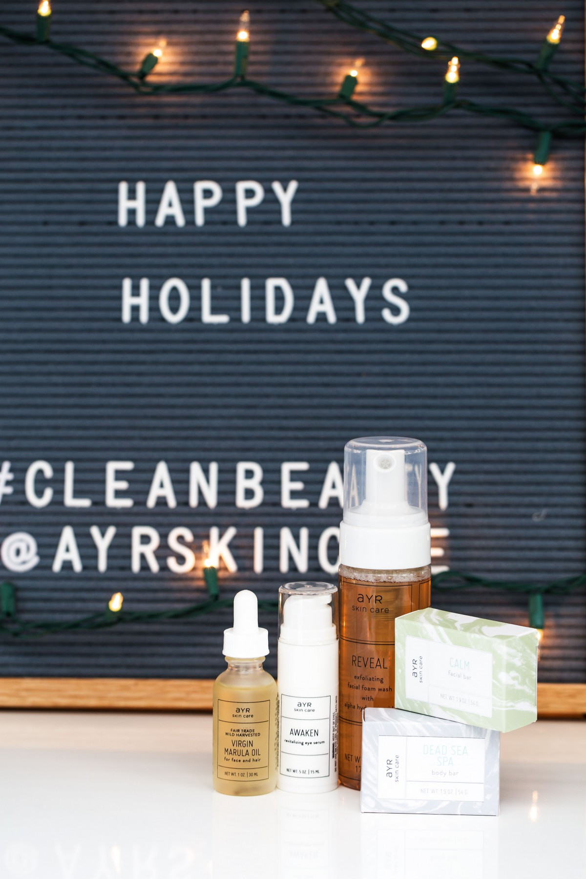 ayr skin care giveaway