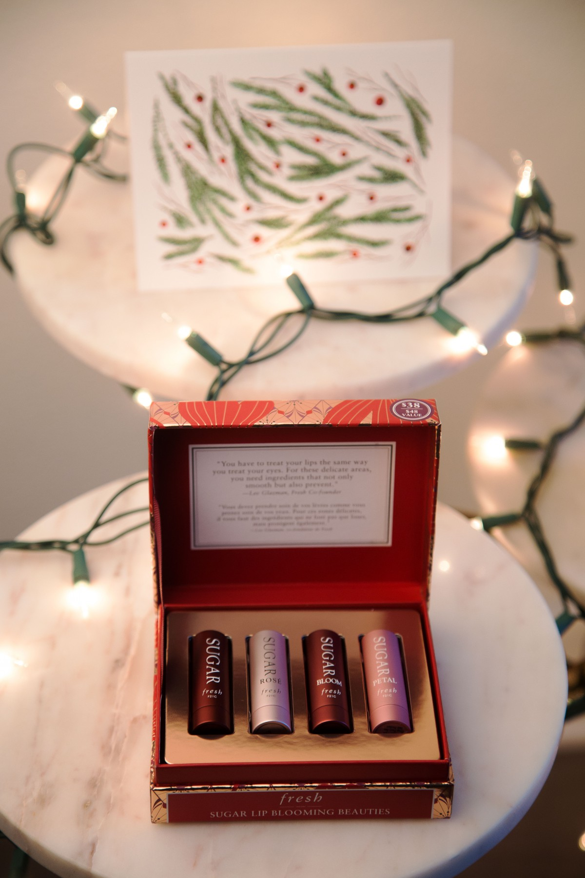 Fresh Holiday Sugar Lip Kits Giveaway