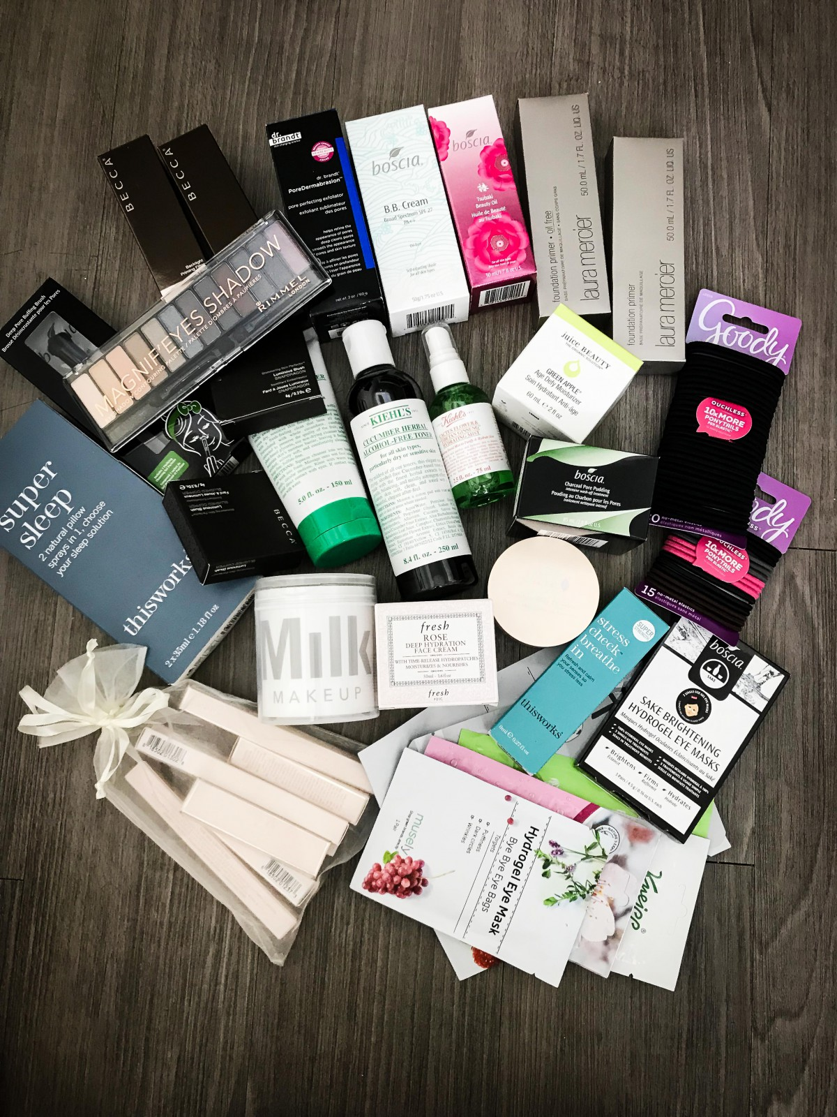 NEW IN BEAUTY JANUARY 2018 GIVEAWAY