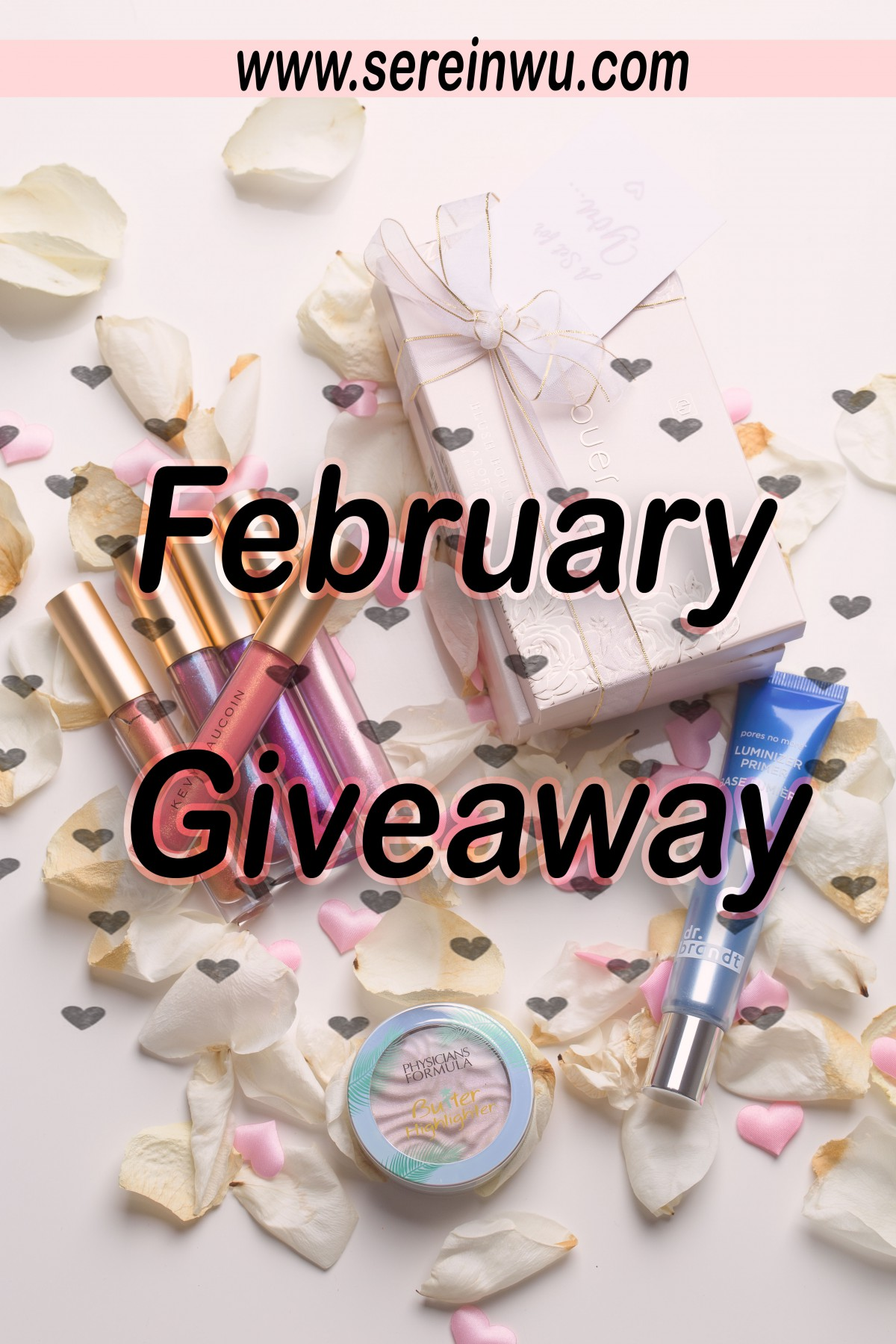 NEW IN BEAUTY FEBRUARY 2018 GIVEAWAY