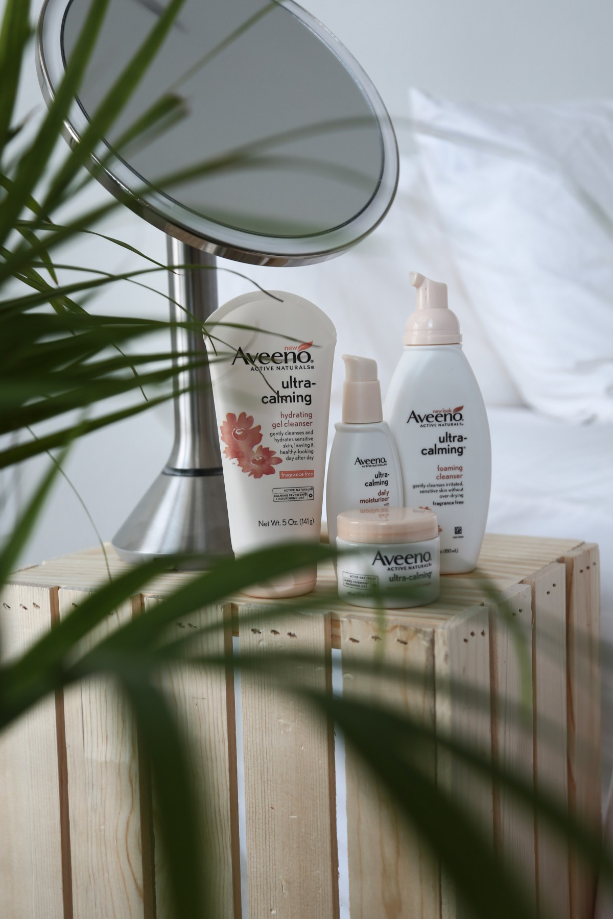 aveeno ultra calm sensitive skin best drugstore products