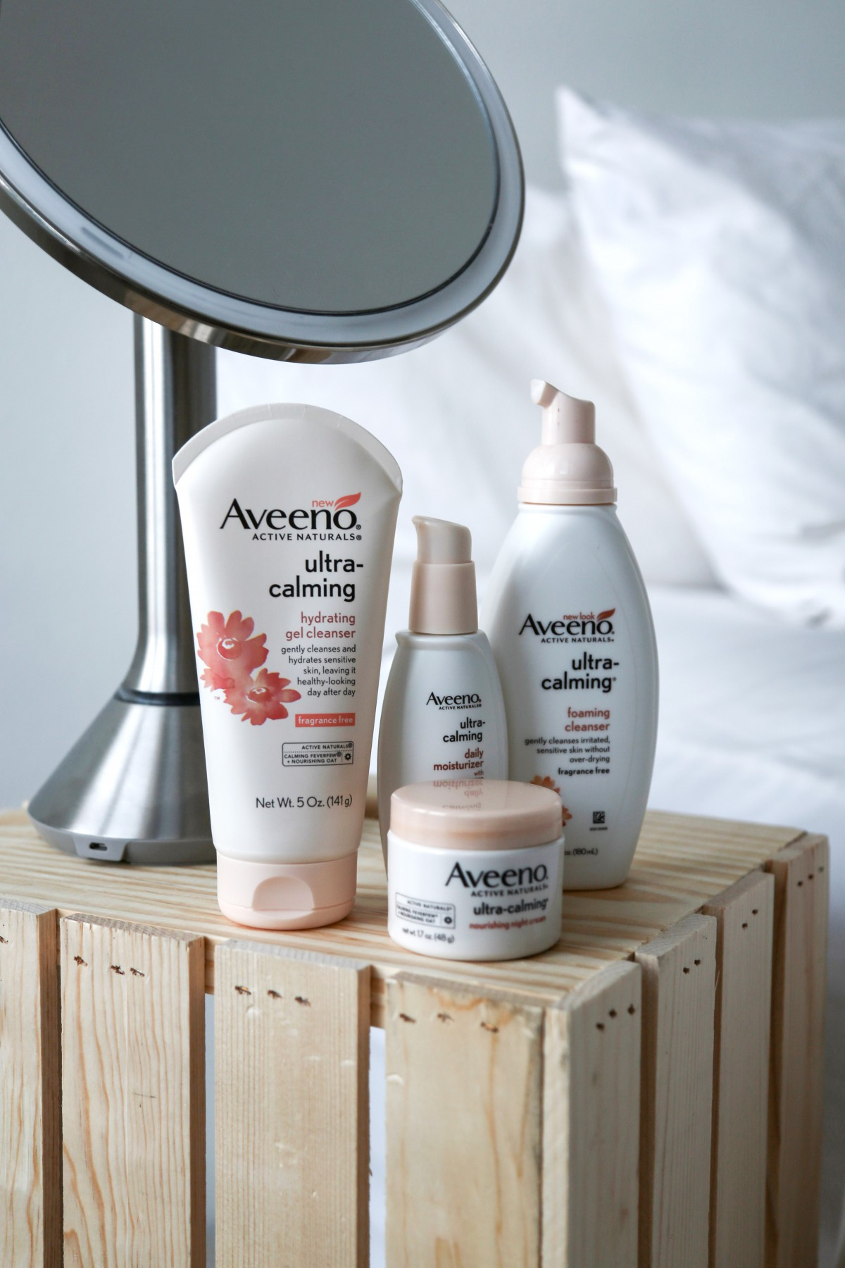 sensitive skin aveeno ultra calming best drugstore products