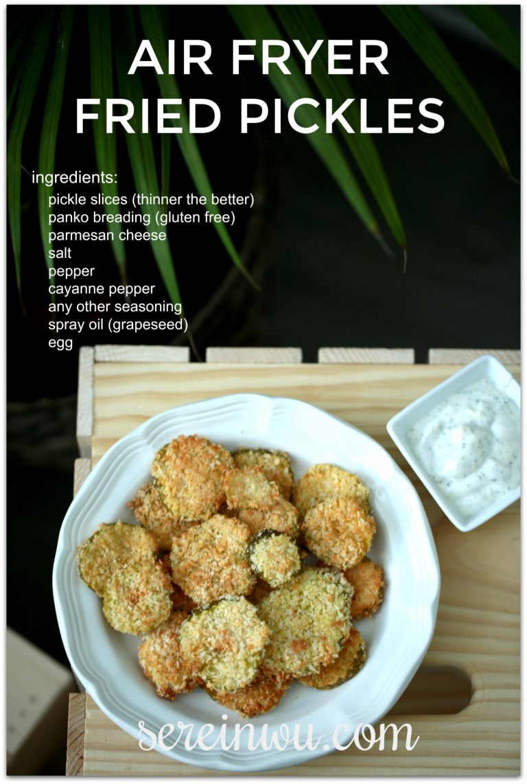 air fryer fried pickles ingredients