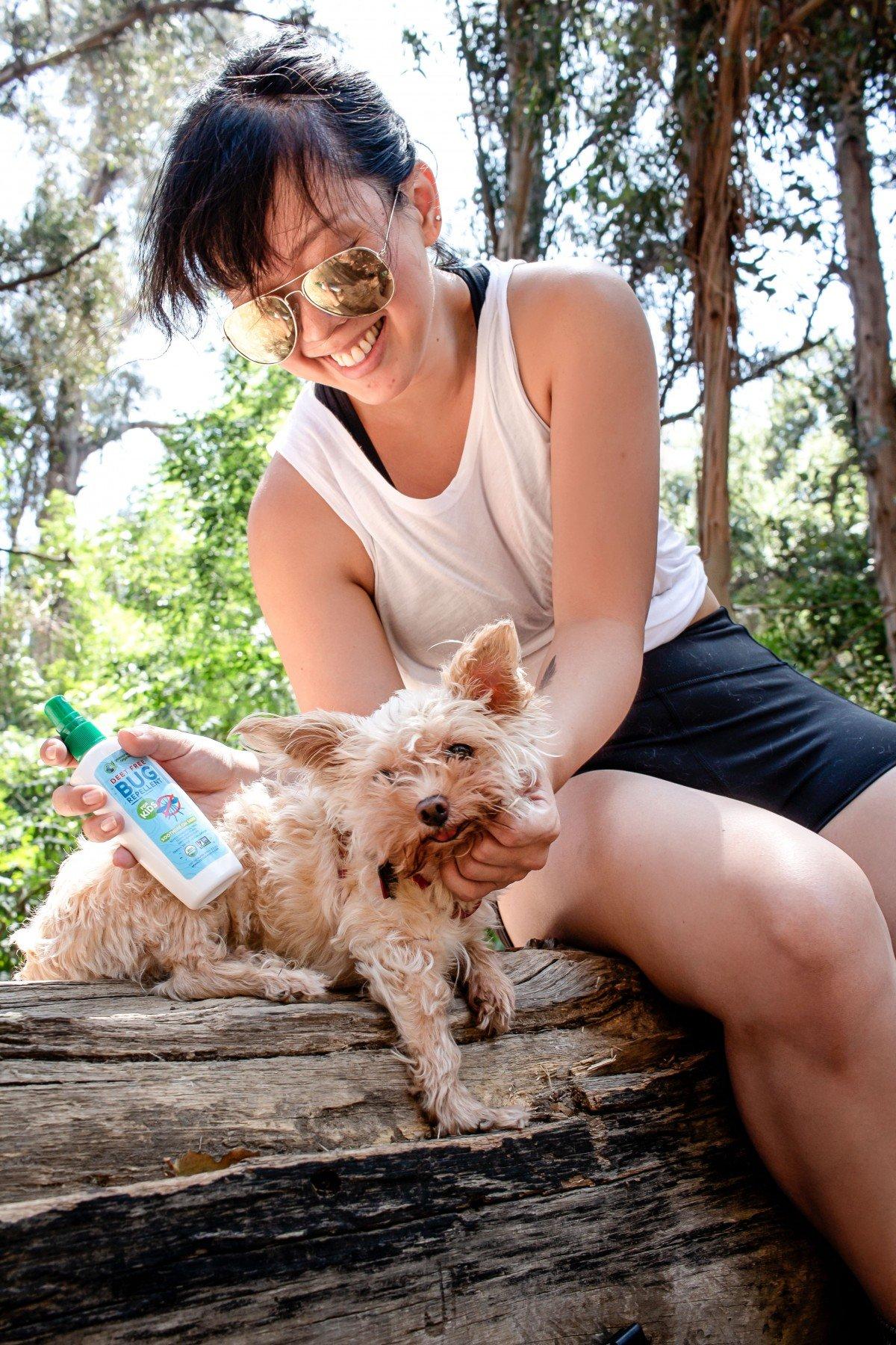Greenerways organic natural bug repellent camping hiking