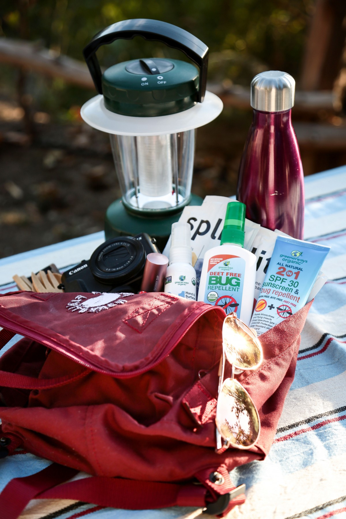 camping natural mosquito bug repellent