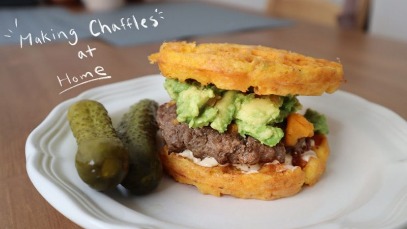 How To Make Chaffle Burgers