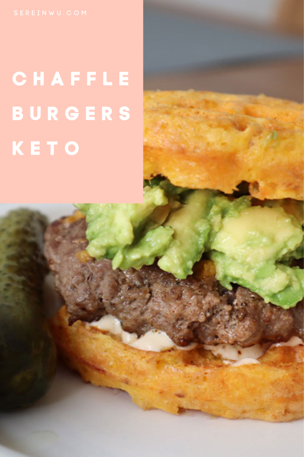 how to make chaffle burgers at home keto friendly