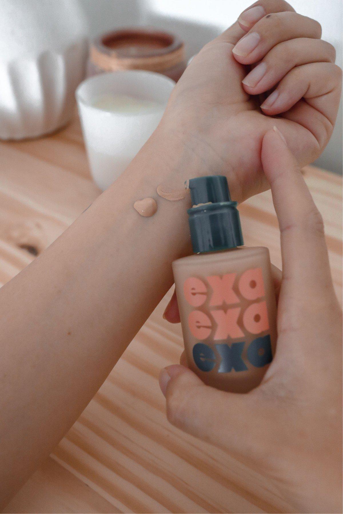 exa foundation in greta clean beauty makeup credo beauty