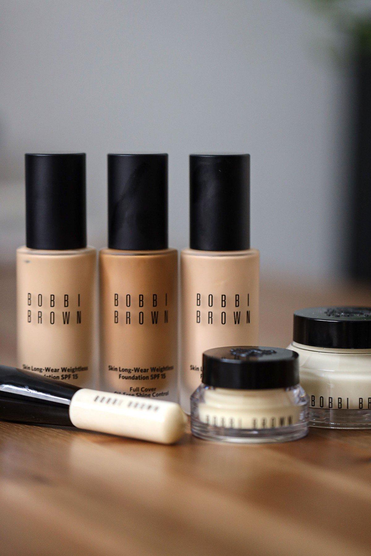 Bobbi Brown skin long-wear foundation review Serein Wu