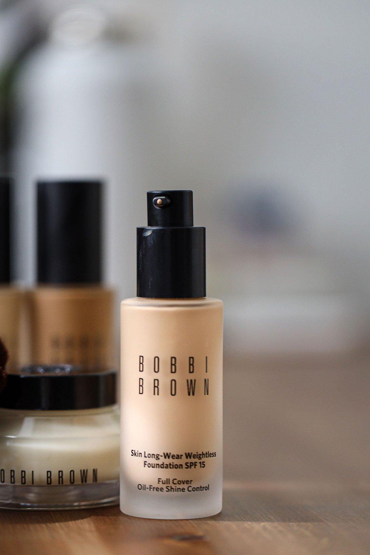 Bobbi Brown skin long-wear foundation spf 15